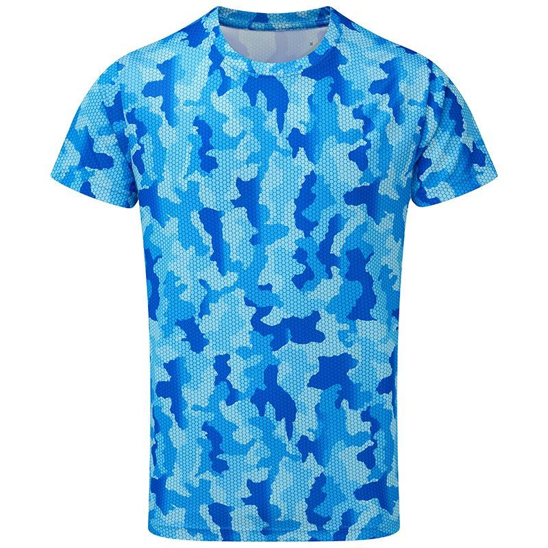 TRIDRI TR015 HEXOFLAGE PERFORMANCE T-SHIRT