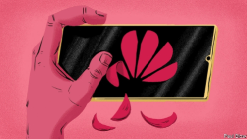Economist - Huawei has been cut off from American technology