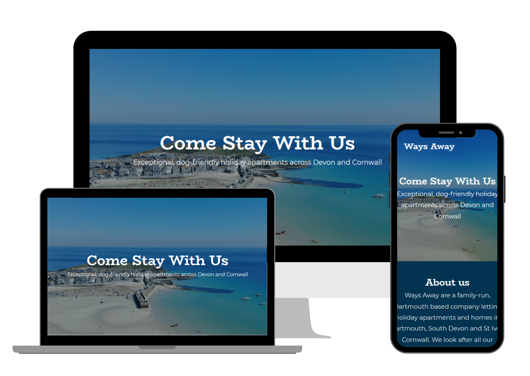 Website design and digital marketing in Torquay, Exeter, Plymouth and Newton Abbot by Salcombe Design Company. cheap