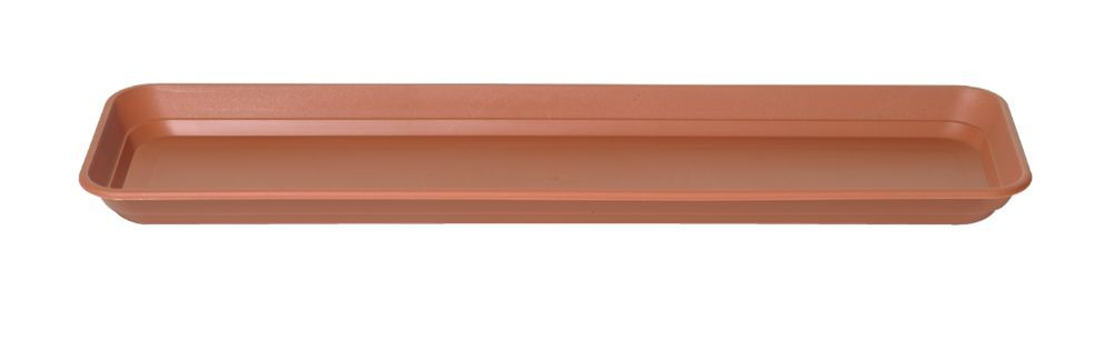 Stewarts 50cm Terracotta Balconniere Plastic Trough Tray