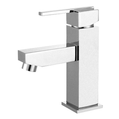 Square Monobloc Basin Mixer Tap with Waste