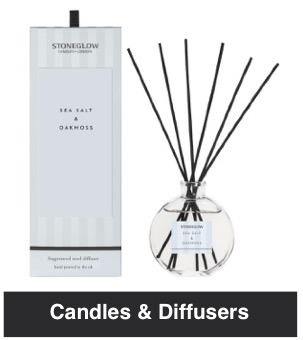 Candles and Diffusers from Nice Stuff Edinburgh Gift Shop