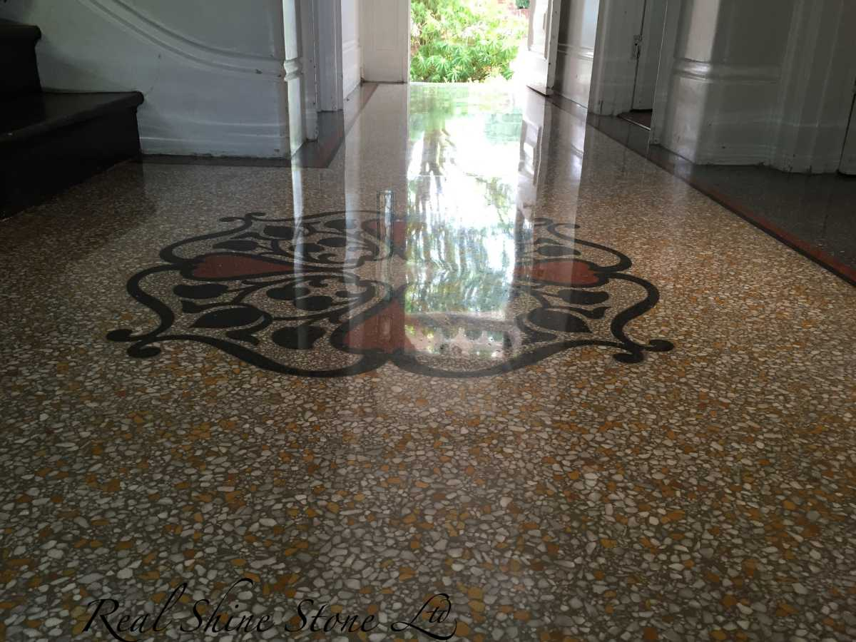 Terrazzo reflection - day light