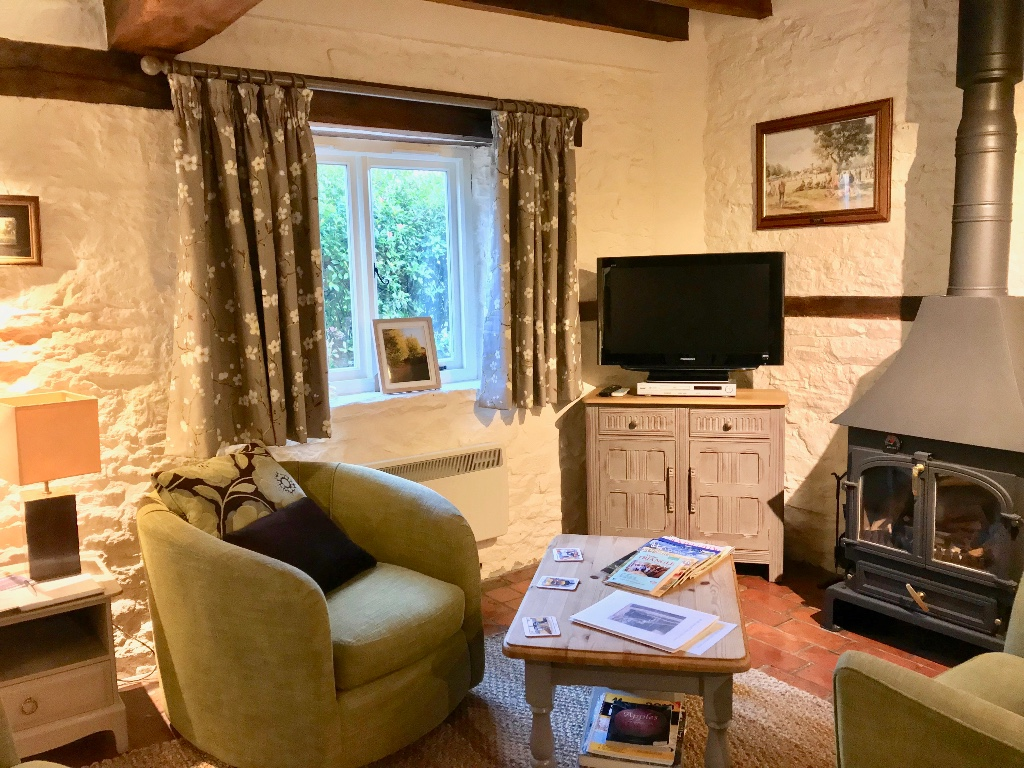 Cosy living with a wood burner