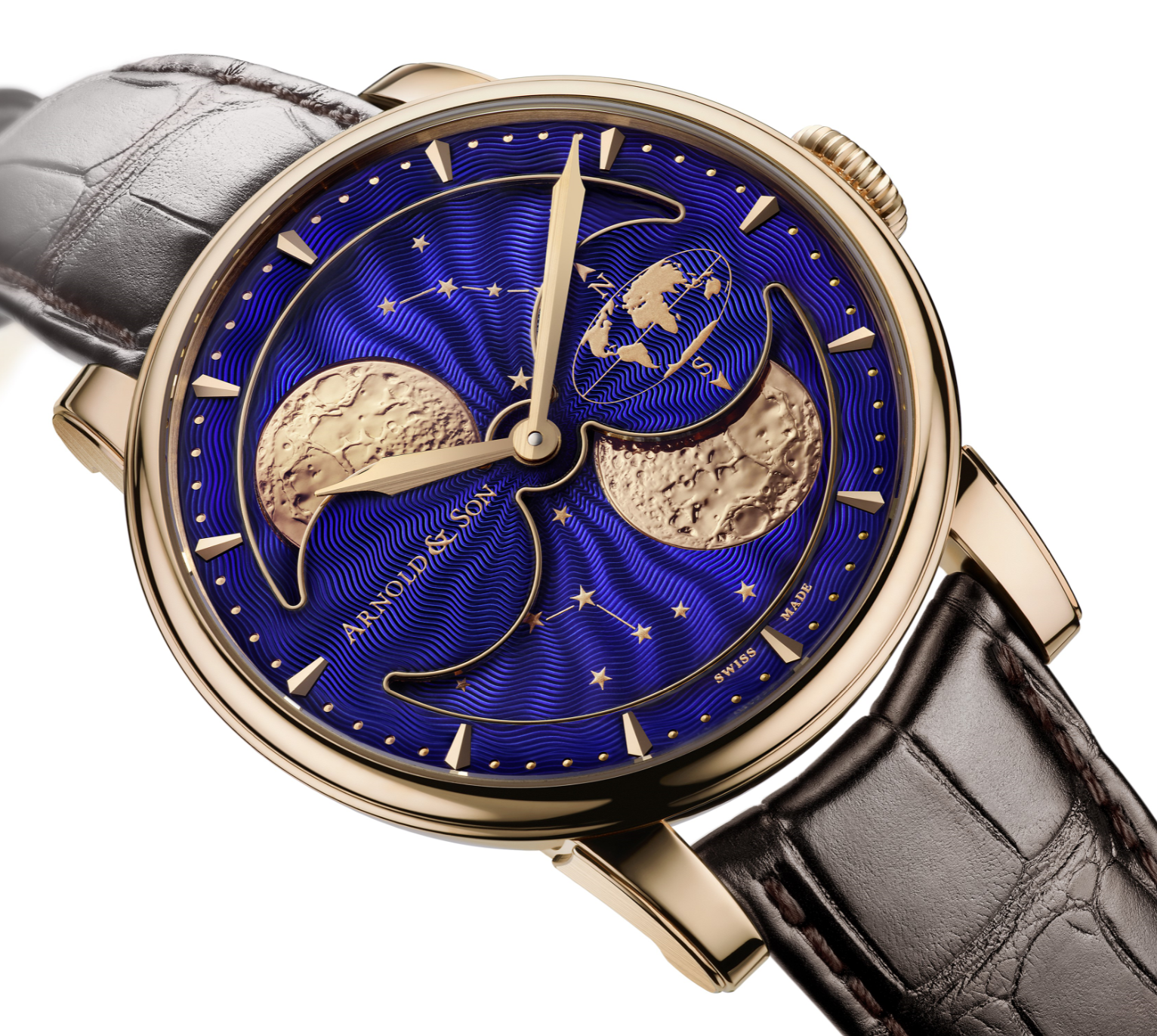 Arnold and Son HM Double Hemisphere Perpetual Moon
