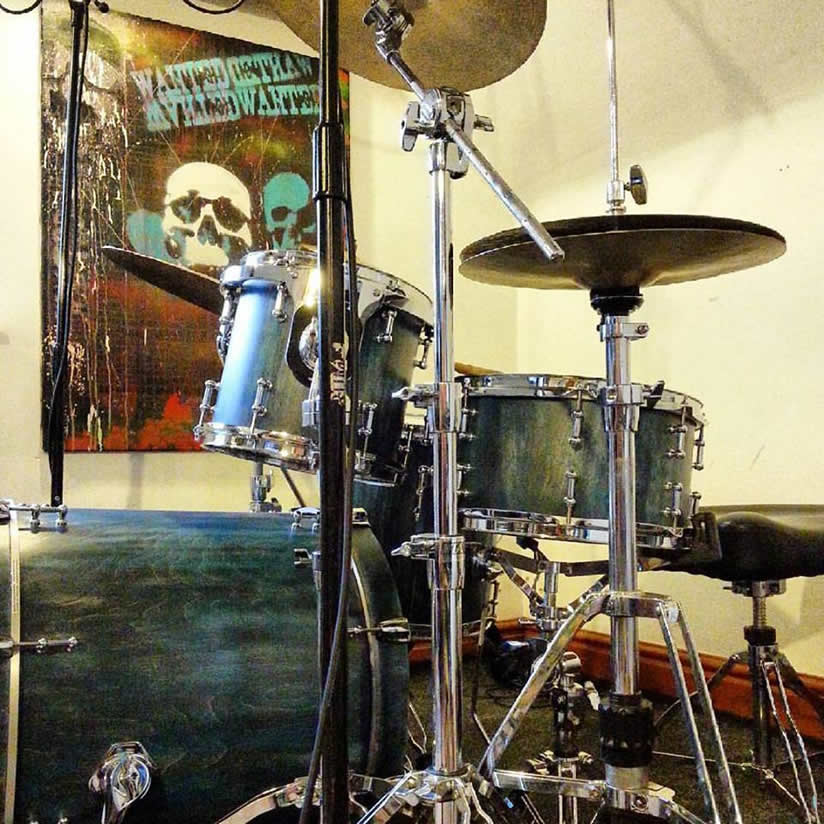 Jon Broberg Custom Drum Kit