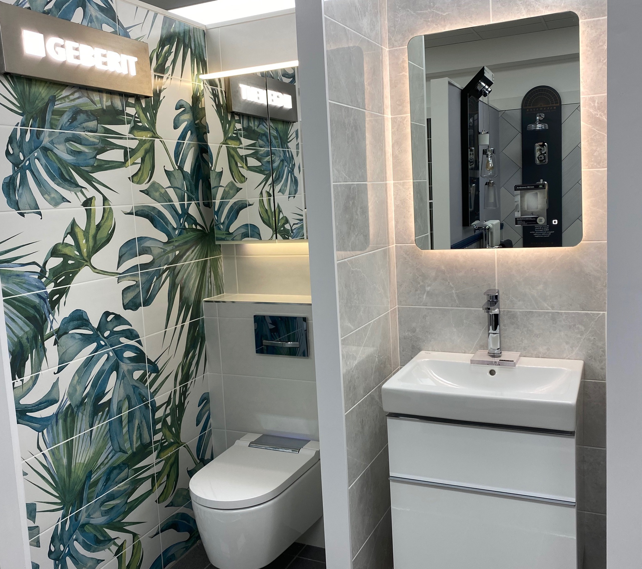 Closer to nature with our bidet WC, worries of toilet paper supply are in the past...