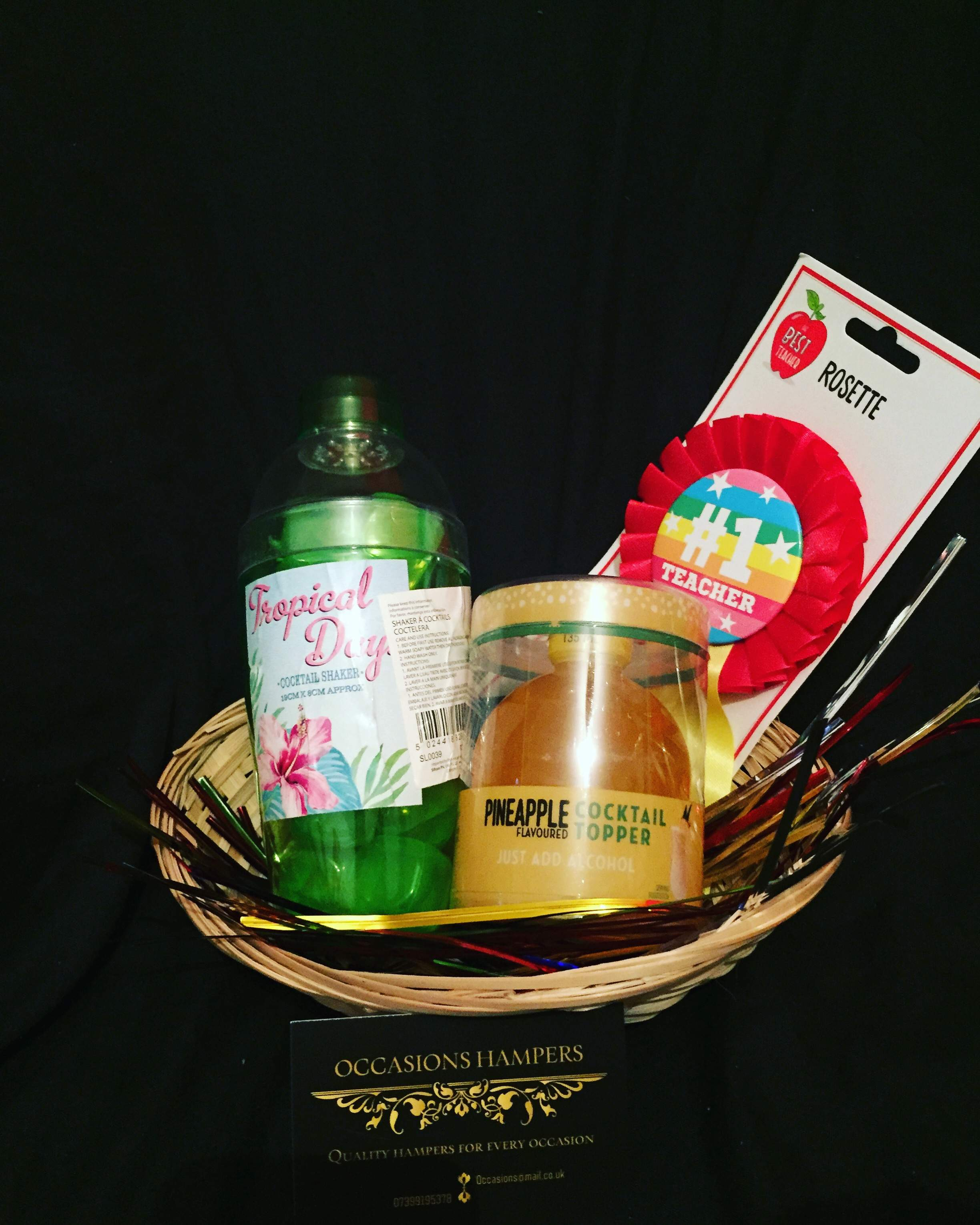 Teacher Gift Basket #1