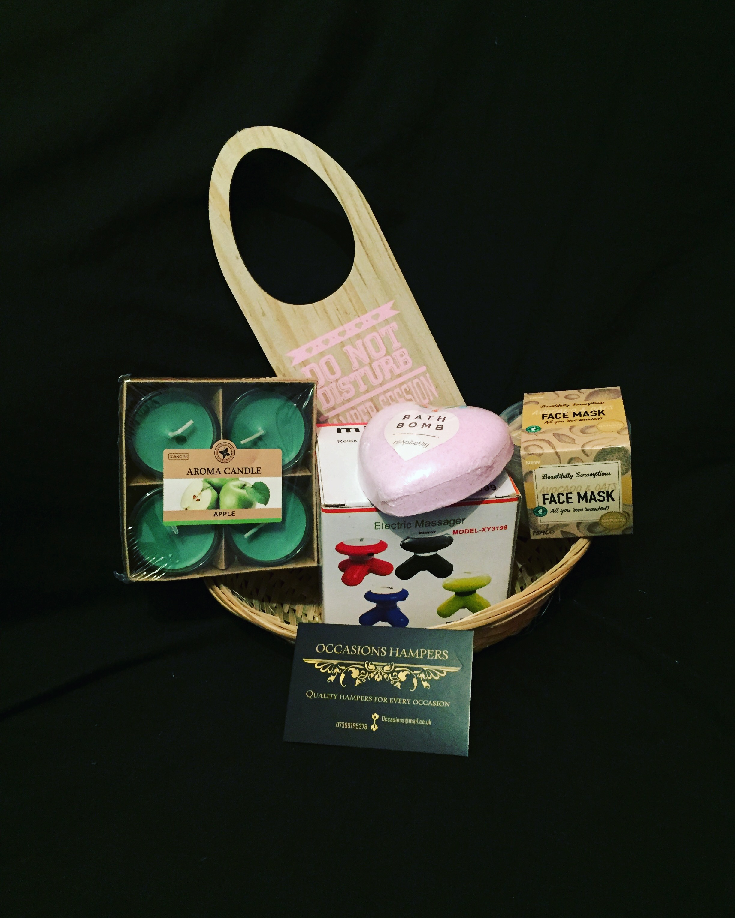 Pamper Treat Gift Basket