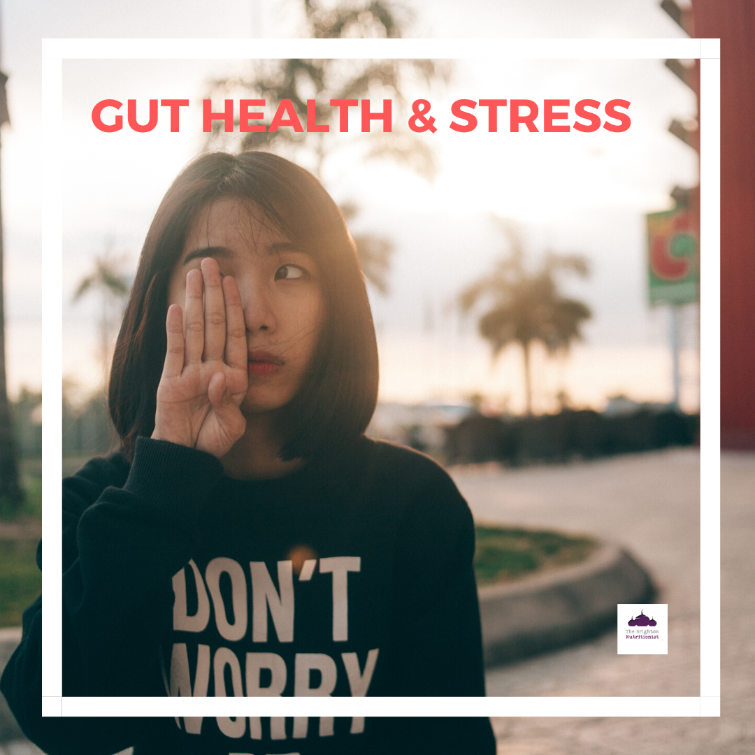 Gut health and stress - National Stress Awareness Day.