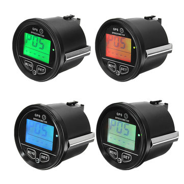 60mm 12V 24V GPS Speedometer Odometer Atv
