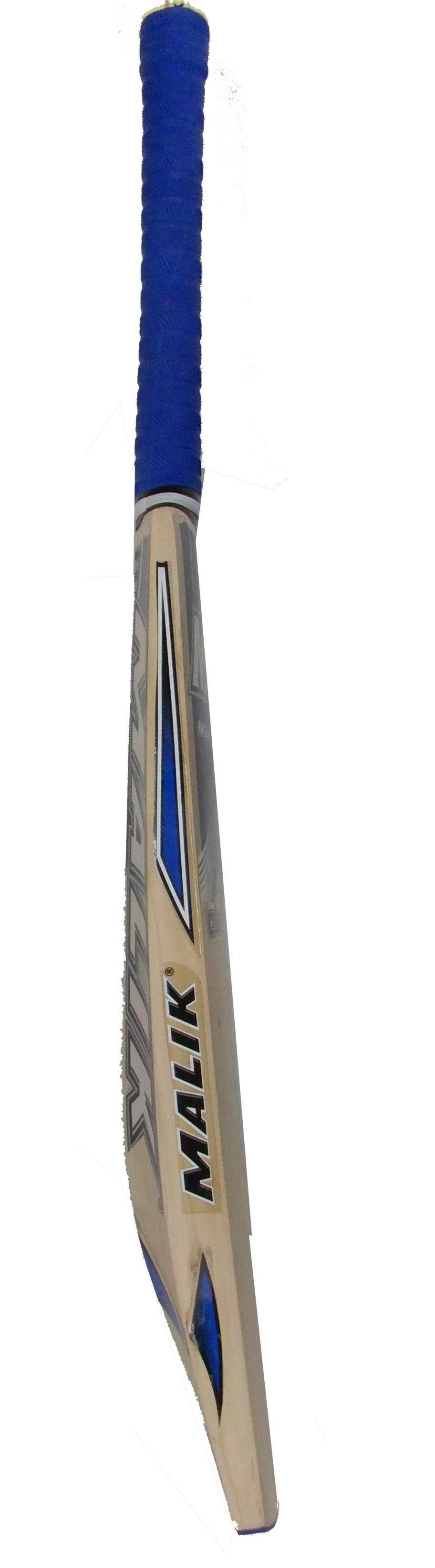 Mb Malik County English Willow Cricket Bat SH 2.7 Lbs Free Bag