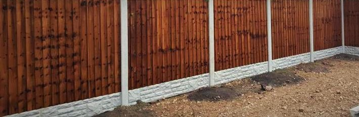 Fence Panels Concrete Posts Gravel Boards Patio Paving