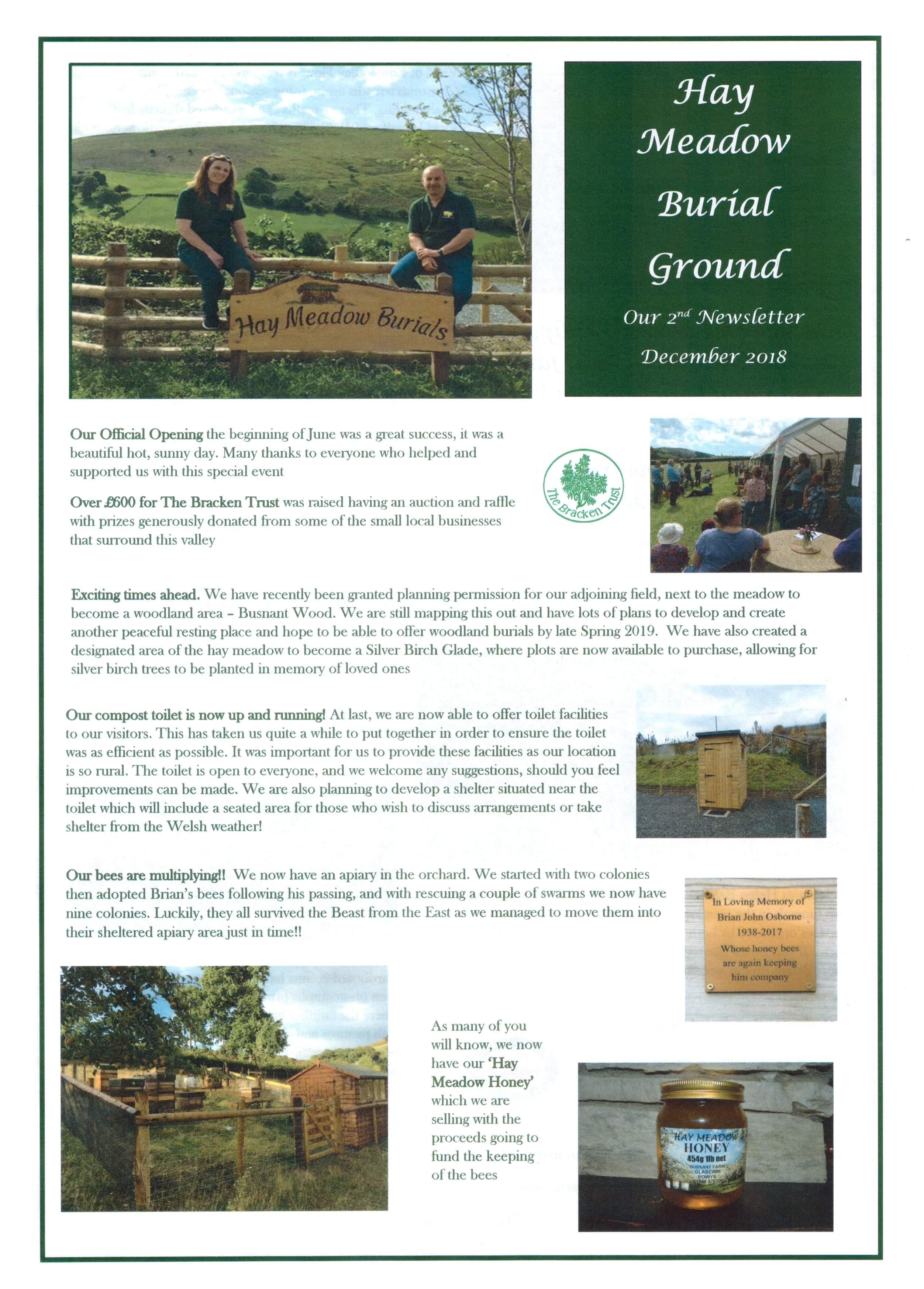 Hay meadow burials