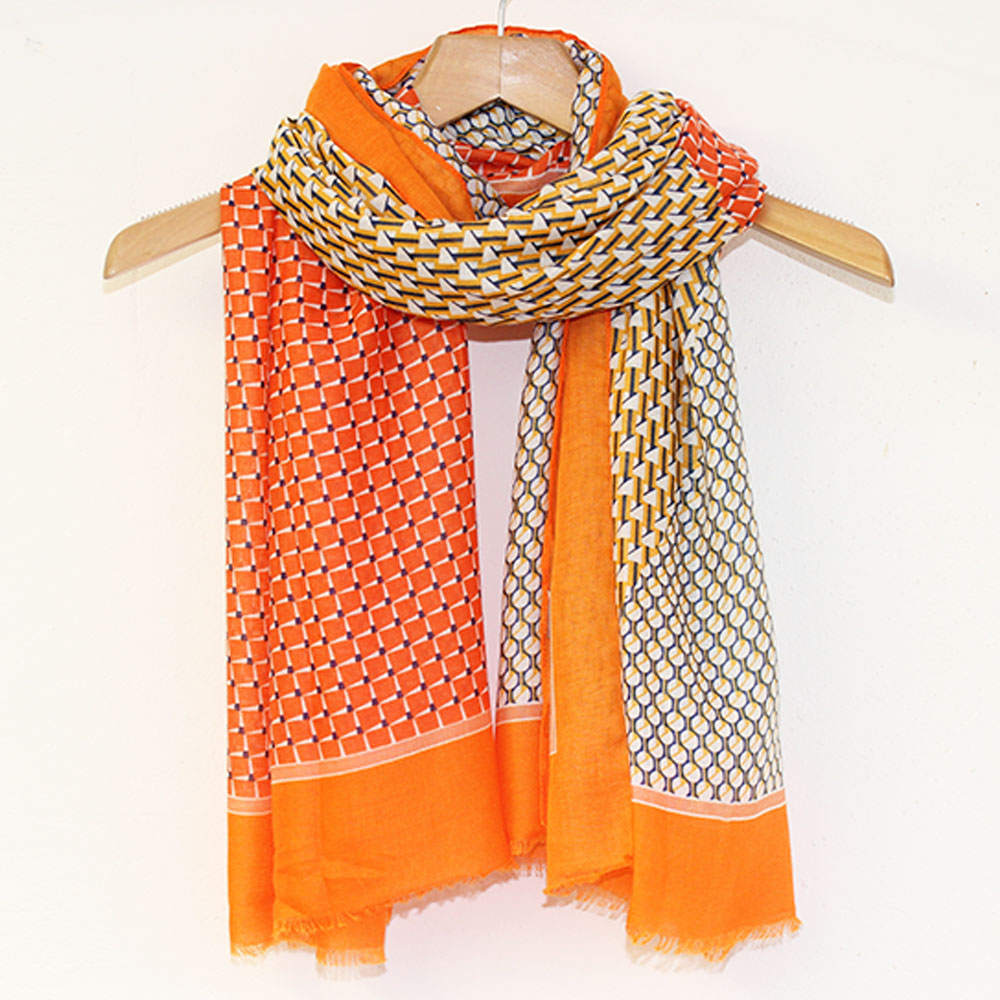 Orange Alba Scarf