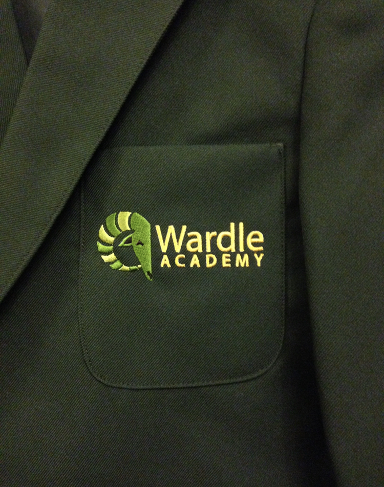 wardle Academy girls blazer