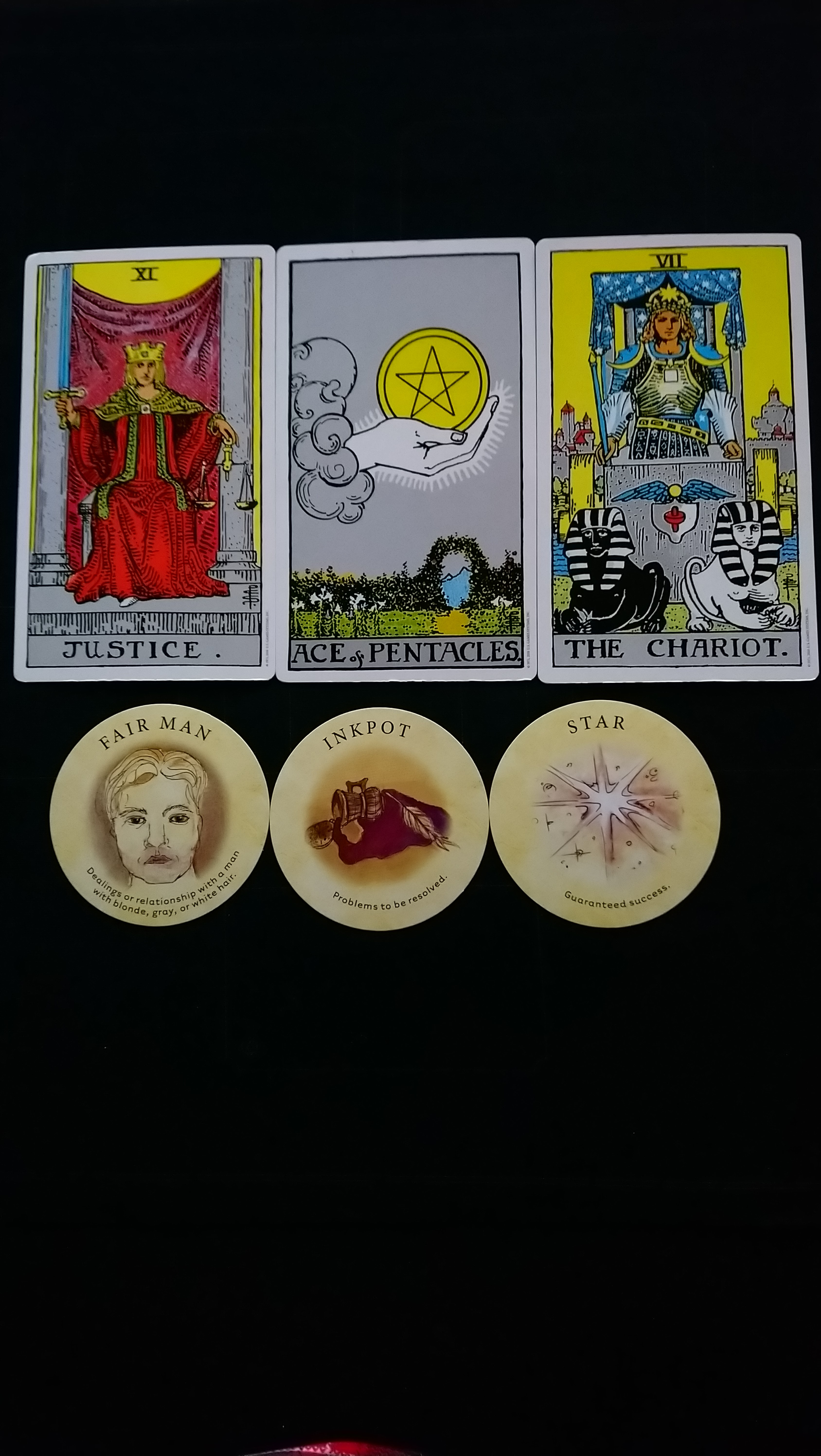 Free week ahead Tarot and Lenormand readings