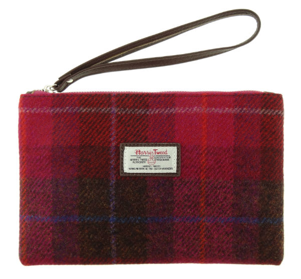 Harris Tweed Pouch in Colour 52 GA011