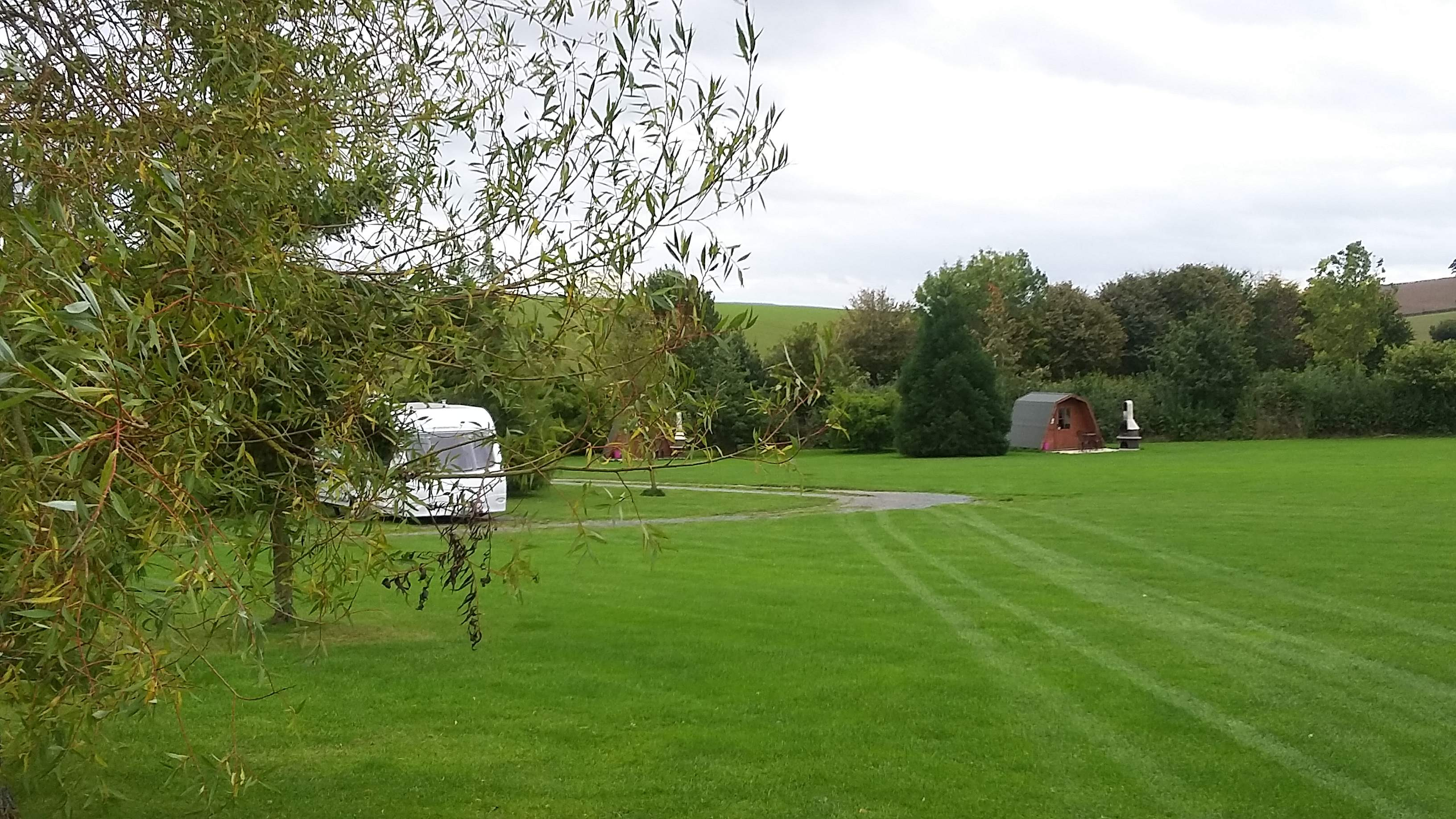 Hard Standing Pitch & Glamping Pod
