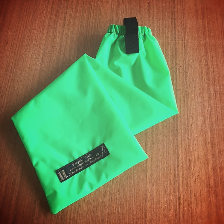 Heavy Duty Tail Bag - Fluorescent Green