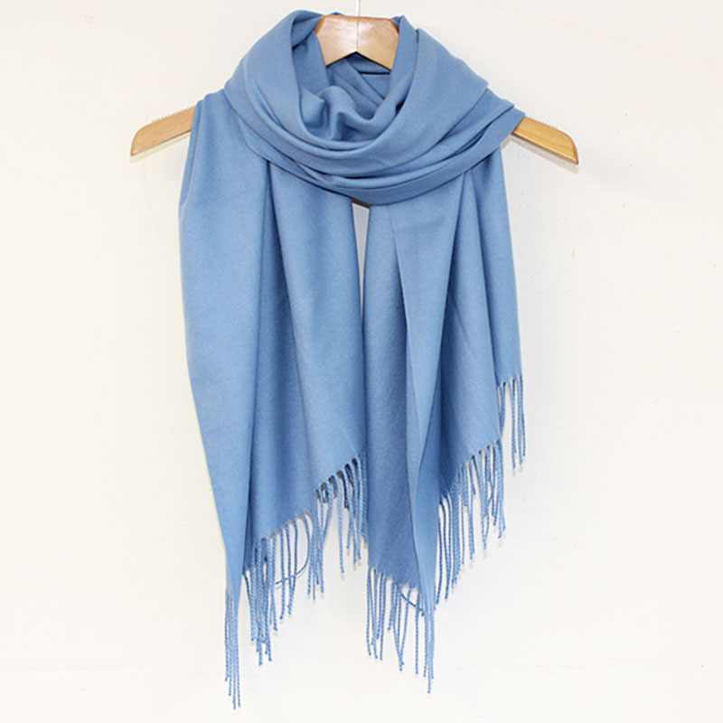 Pashmina Scarf in French Blue