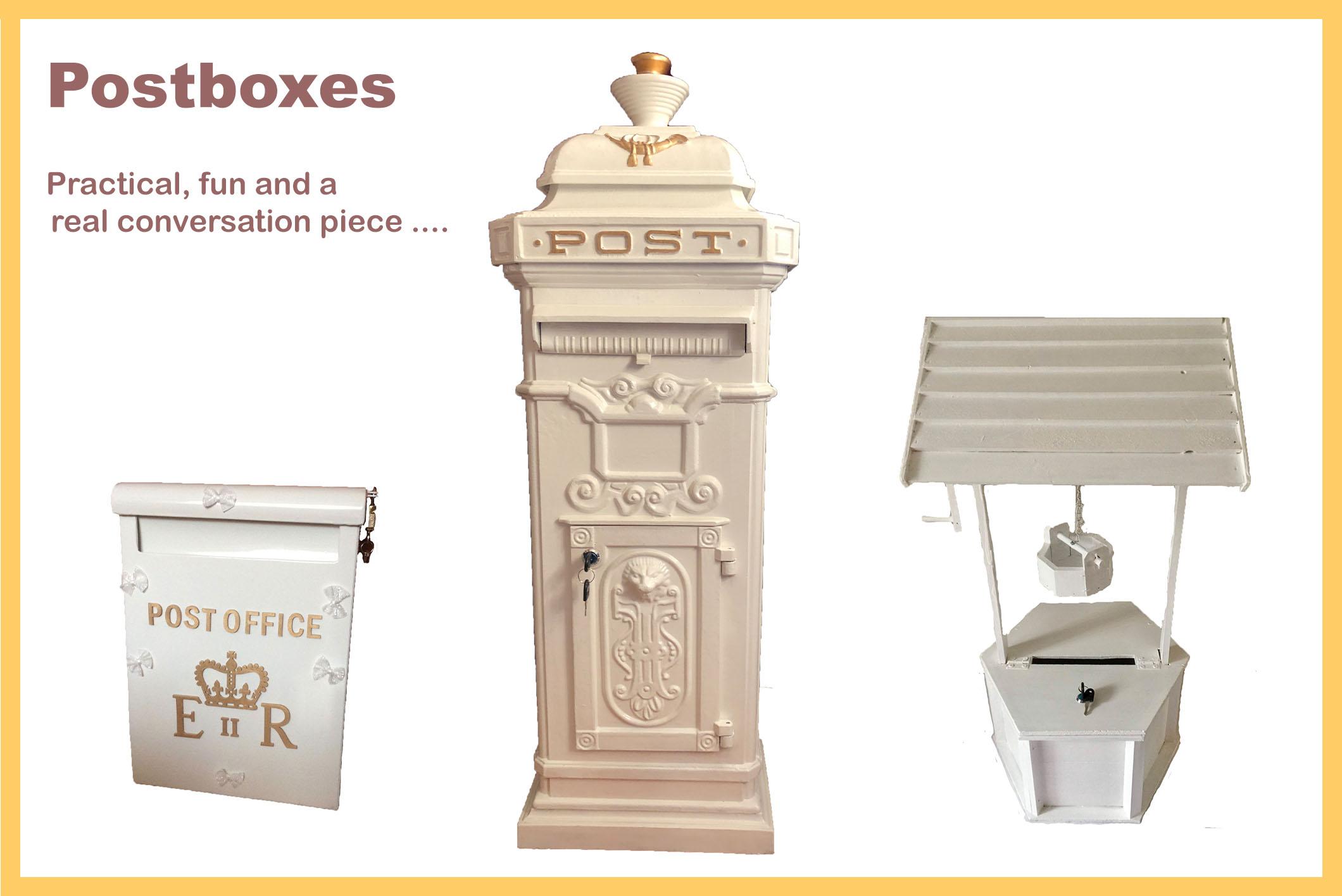 Wedding props - postboxesjpg