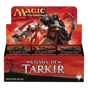Khans of Tarkir Booster Display [Russian]