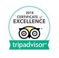 Trip Advisor Certificate of Excellence 2018 Kirksidejpg