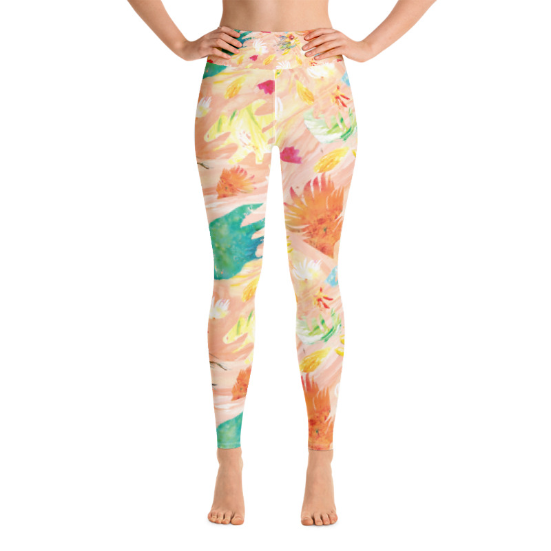 New Designs on Yoga Pants.
