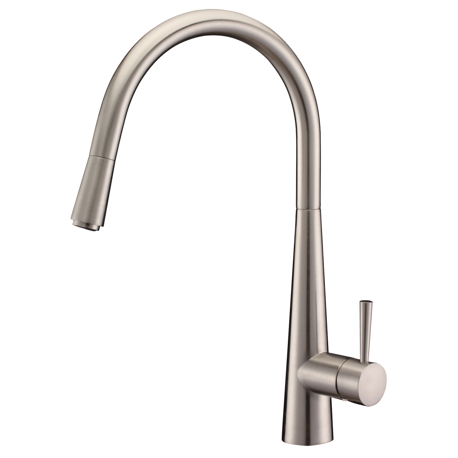 Stockholm Luna Pull Out Kitchen Mixer Tap (Brushed)