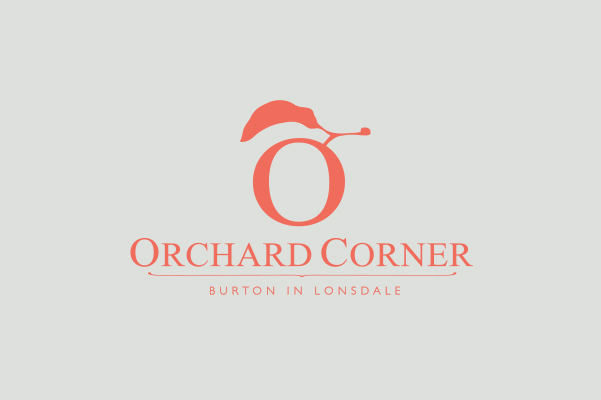 Orchard Corner in Burton In Lonsdale Logo Design.