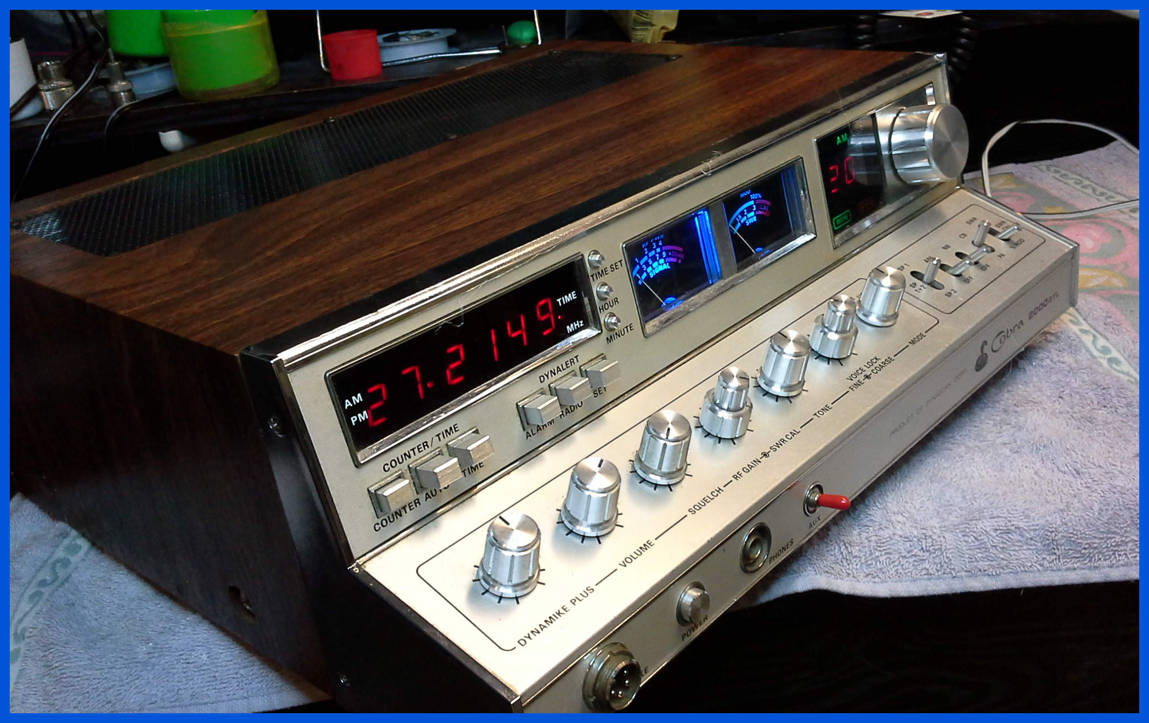 Cb radio parts cobra 2000 CB Repair