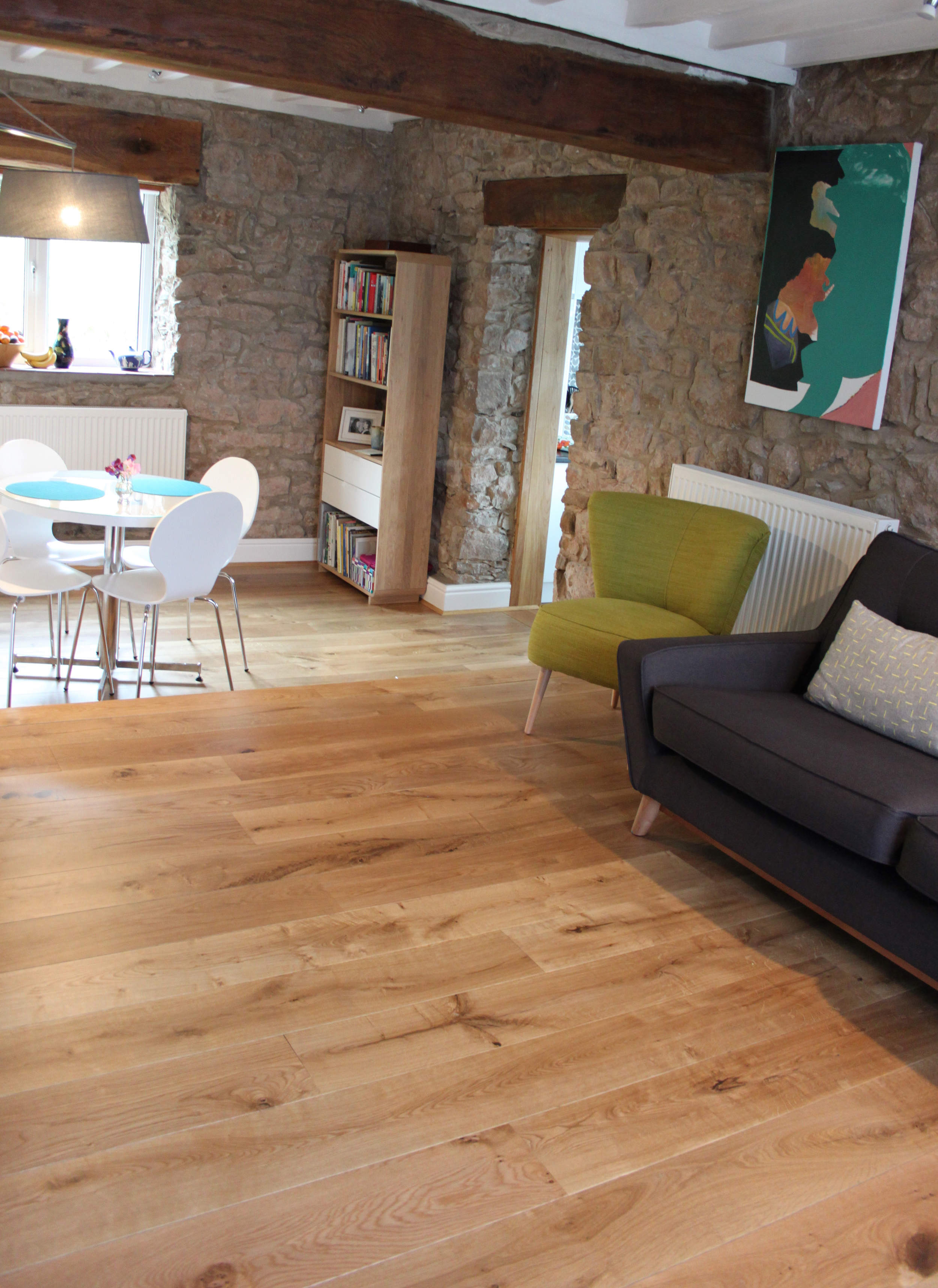 stunning engineered oak flooring with shinny finish will accentuate any home here it is in a period