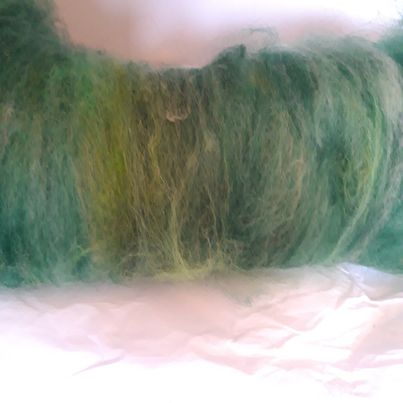 Blended Carded Alpaca Fibre Batts