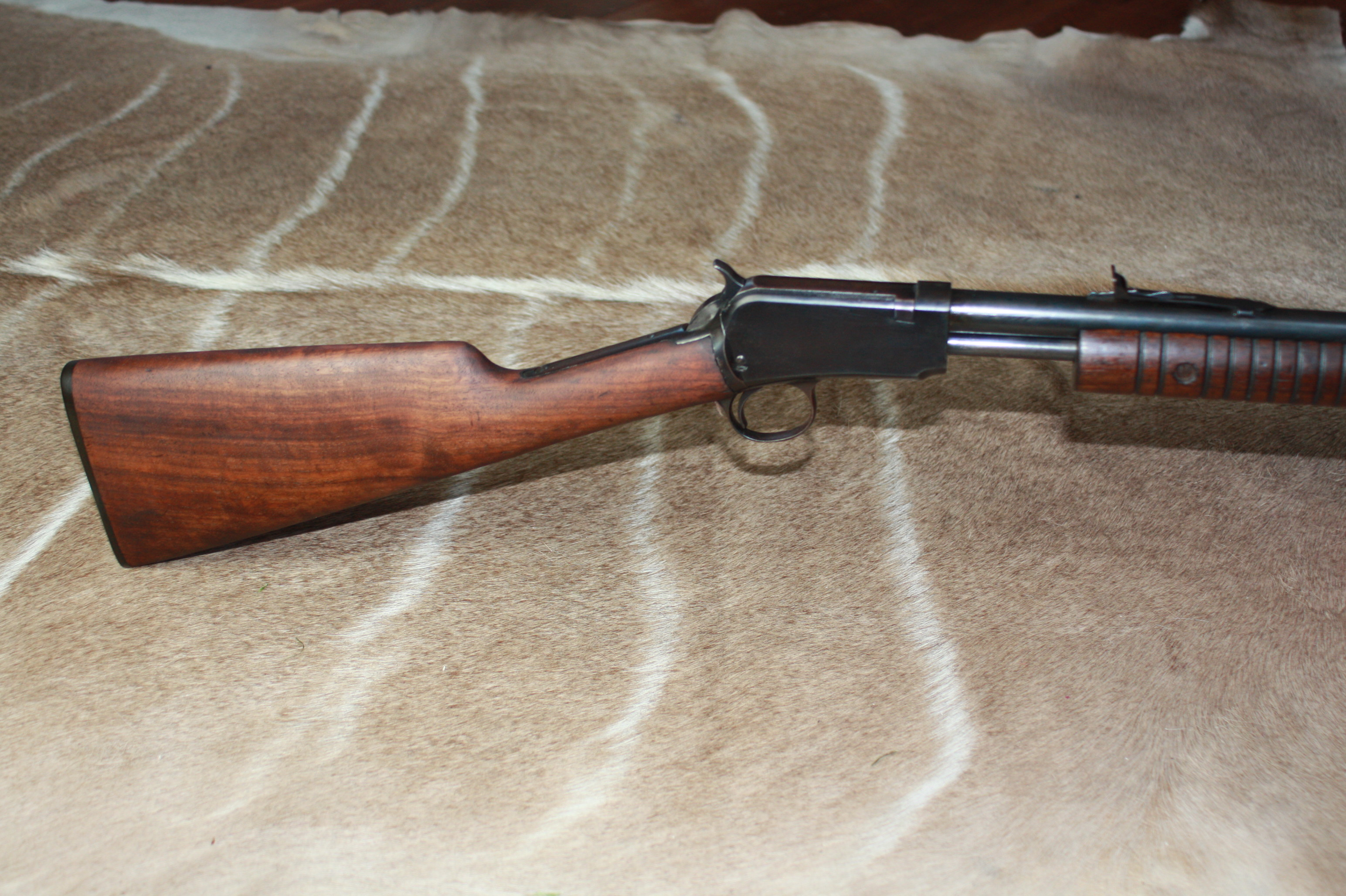 Winchester Model 62A, Pump Action, .22 LR.