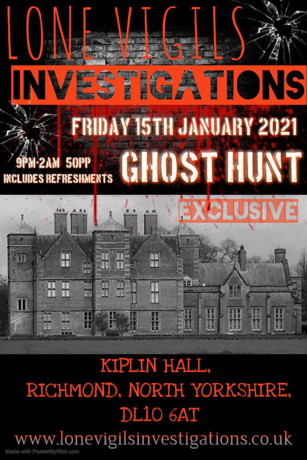 SOLD OUT: EXCLUSIVE: Kiplin Hall Friday 15th January 2021 9pm-2am