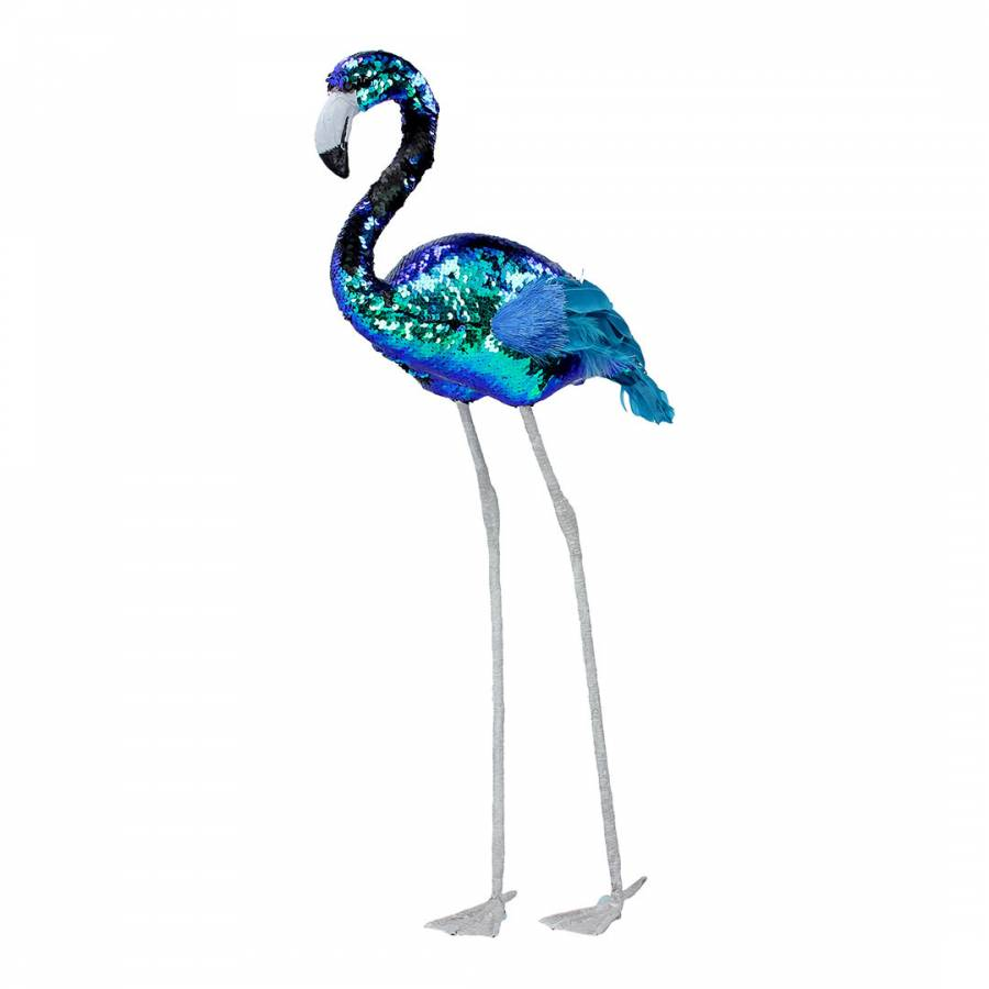 Large Sequin Flamingo