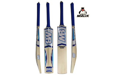 MB Malik  Club Cricket Bat