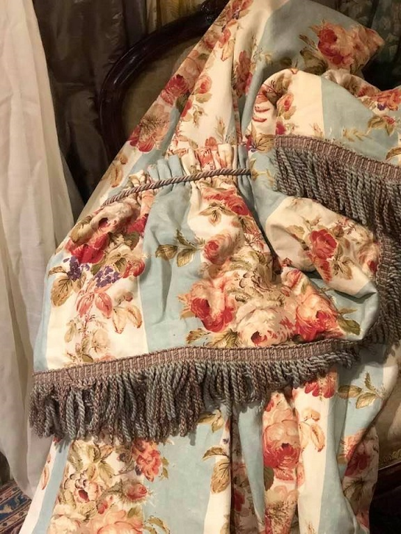 Lovely Colefax & Fowler 'Ellerby' Linen Curtains W180 D239