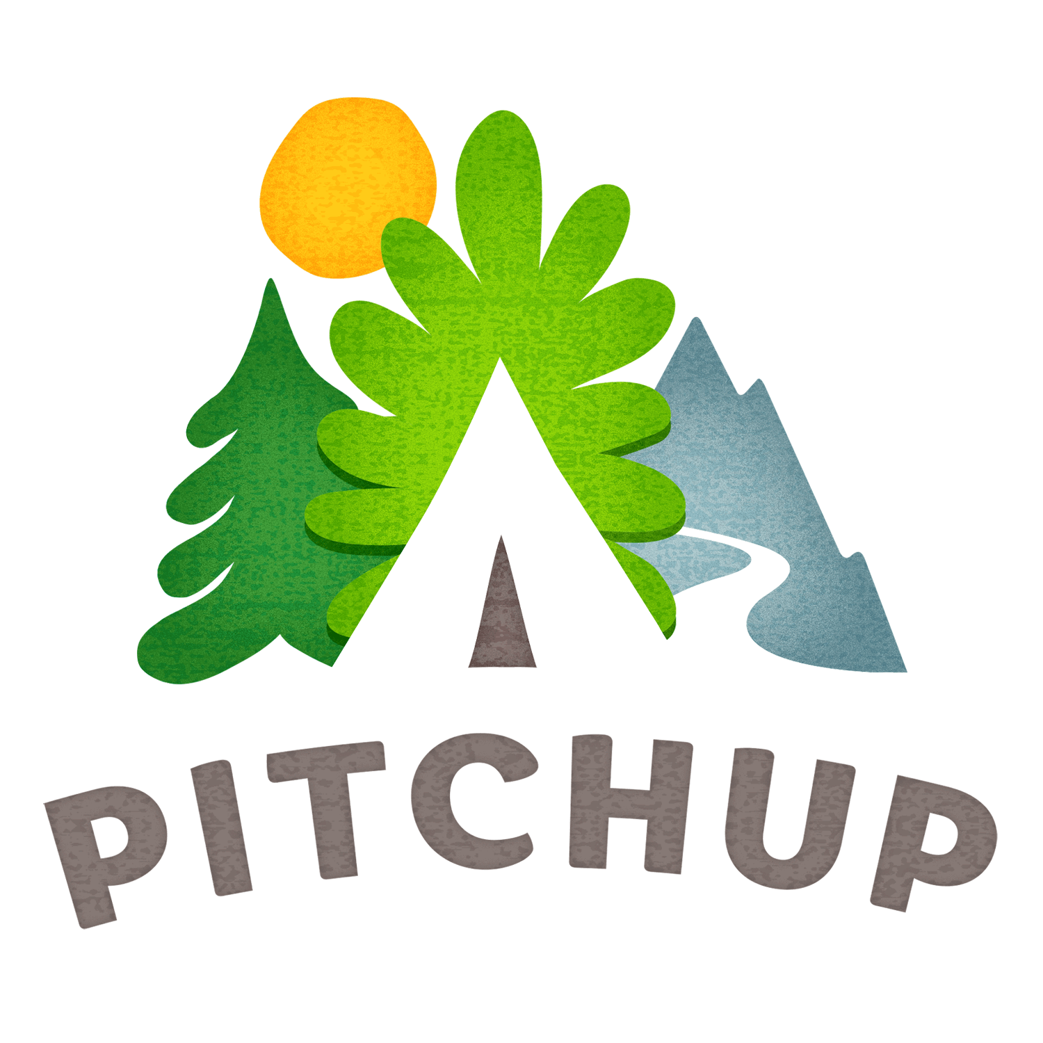 Logo for Pitchup, the review site for caravan and camping sites in the UK