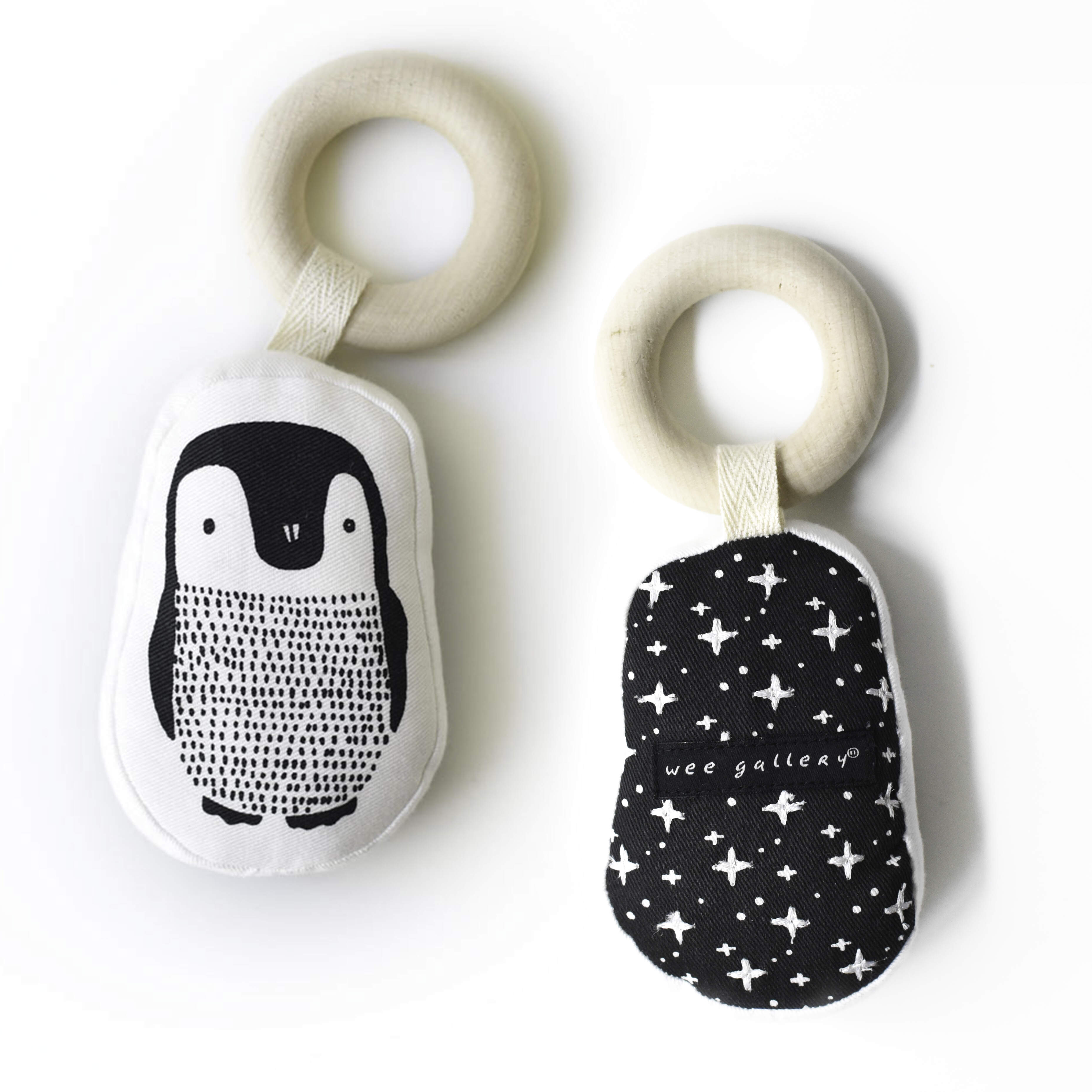 Penguin Teething Ring