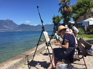 Painting Holiday to Lake Garda