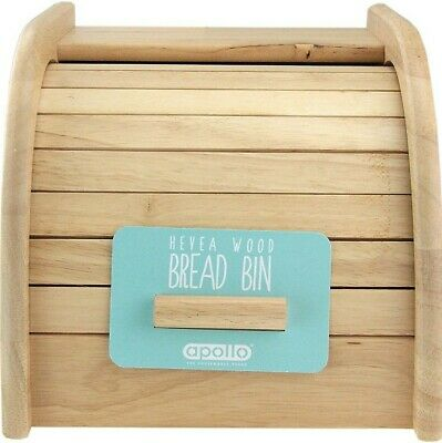 Apollo Spacesaver Solid Wood Mini Bread Bin