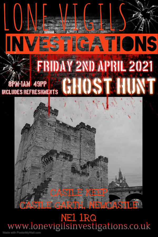 Castle Keep  Friday 2nd April 2021 8pm-1am