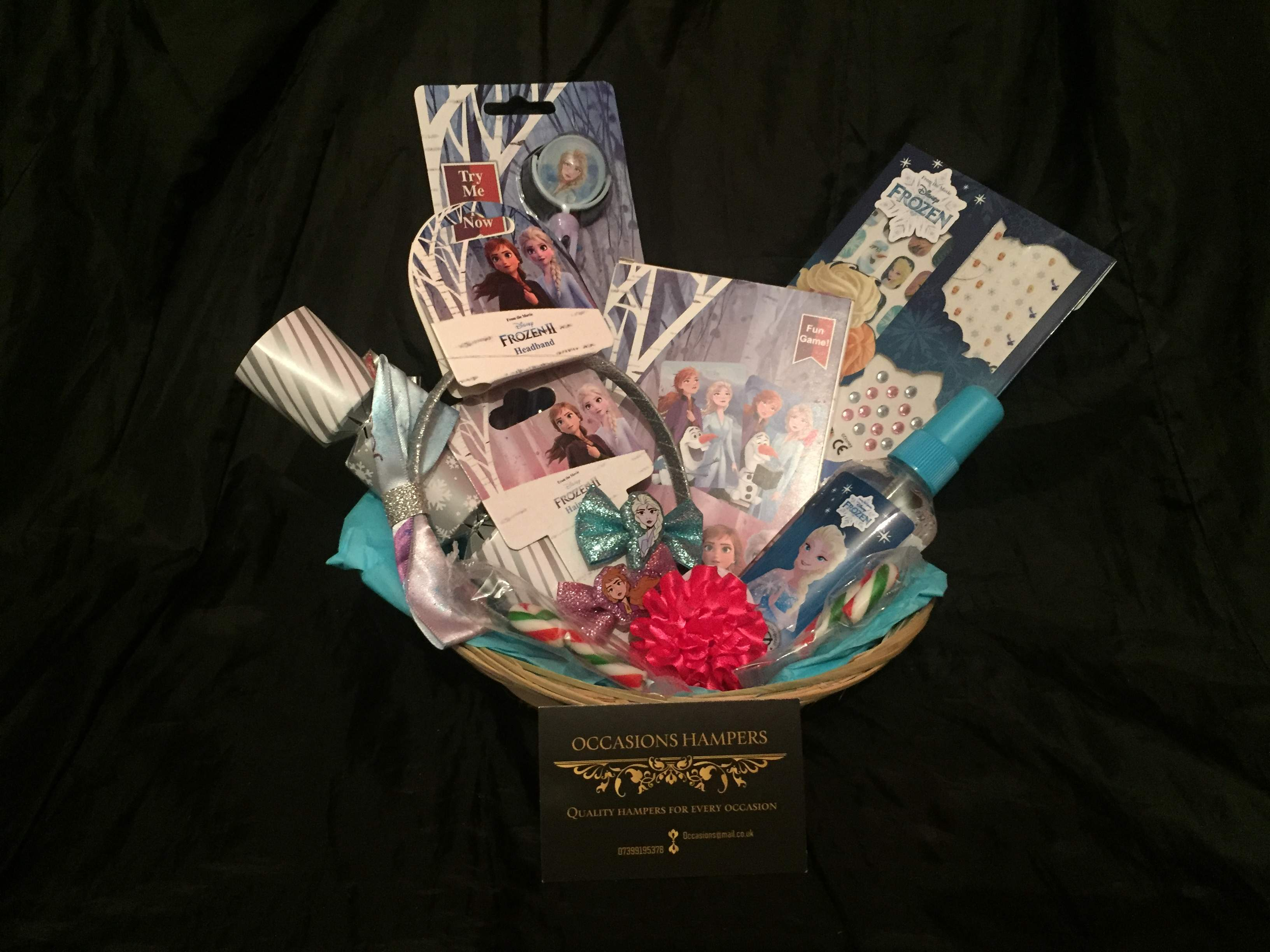 Frozen 2 Accessories Gift Baskets