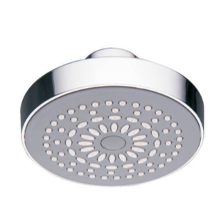 Luxury Single Function Shower Head - Chrome