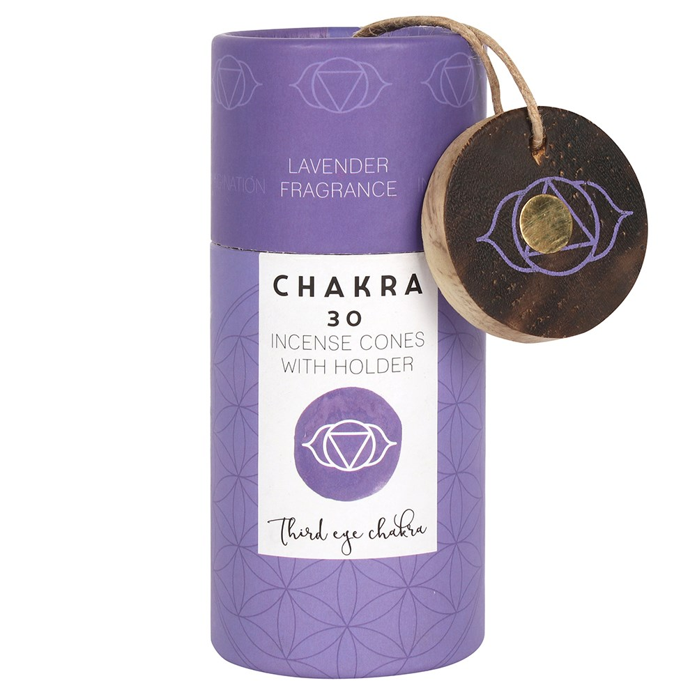 LAVENDER THIRD EYE CHAKRA INCENSE CONES