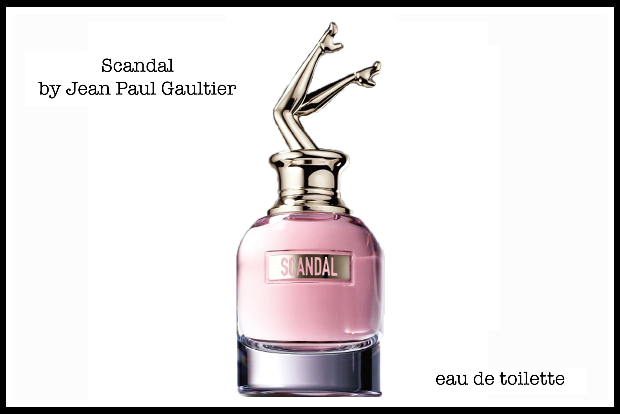 """Scandal"" by Jean Paul Gautier"" my findings"