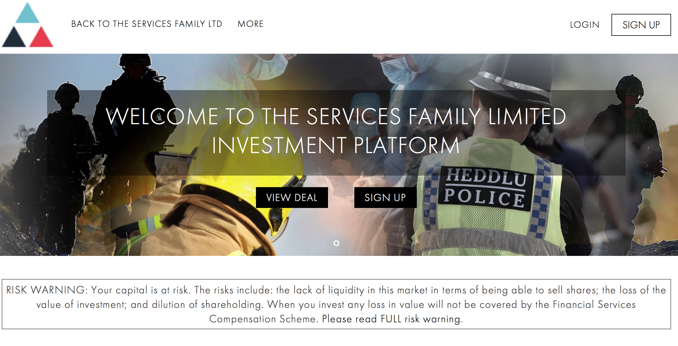 Services Family Ltd Launches its new regulated investor platform using the Envestry™ platform from Envestors®