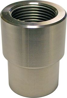 JOHNNY JOINT 1.25 INCH L-H THREADED ROUND WELD-IN BUNG - CE-9114LBLR